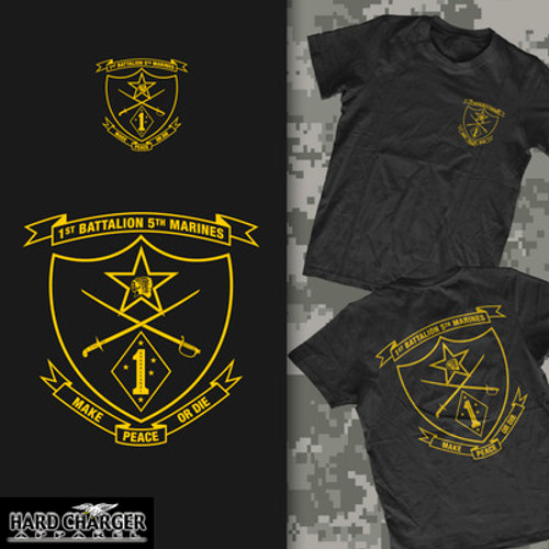 1st Battalion, 5th Marines T-shirt