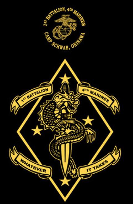1st Battalion, 4th Marines Long Sleeve T-Shirt