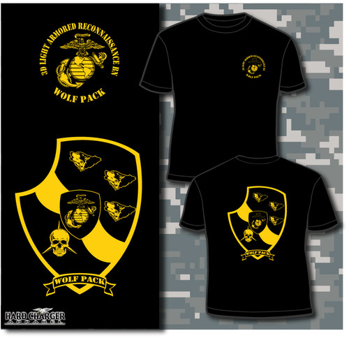 3rd Light Armored Reconnaissance Battalion Long Sleeve T-shirt