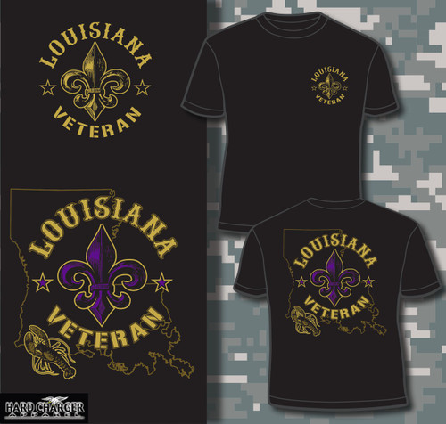 Louisiana Veteran T-shirt