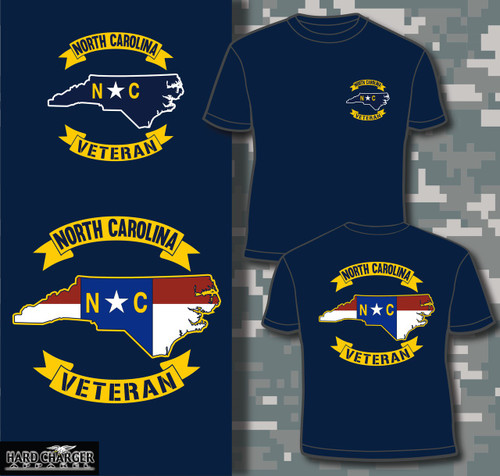 North Carolina Veteran T-shirt