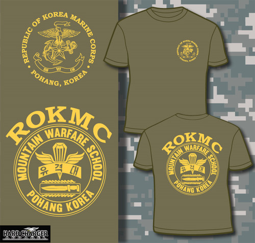 Republic of Korea Marine Corps Mountain Warfare School Long Sleeve T-shirt