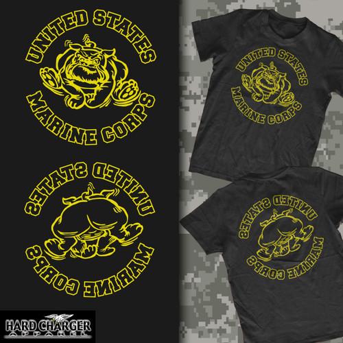 Marine Corps Bulldog Old Corps Hood