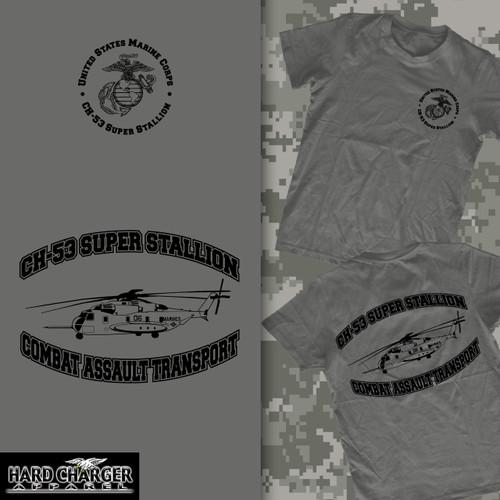 CH 53 Super Stallion Helicopter Crewneck Sweatshirt
