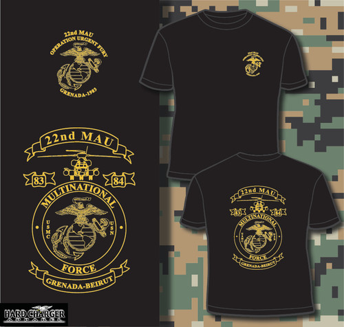 Grenada Operation Urgent Fury T-shirt