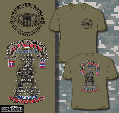 82nd Airborne Division 100th Anniversary T-shirt