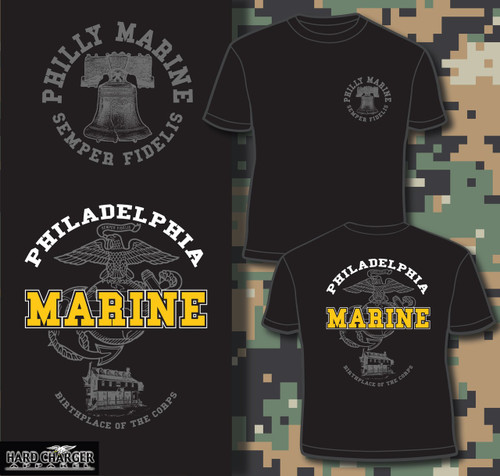 Philly Marine Long Sleeve T-shirt