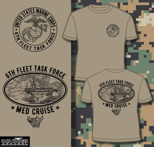 Marine Corps Med Cruise Long sleeve T-shirt