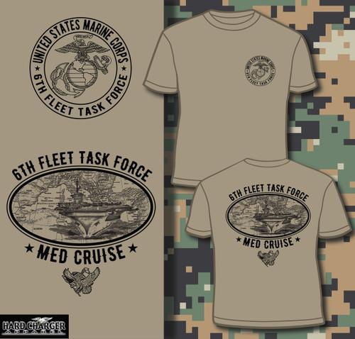 Marine Corps Med Cruise Long sleeve T-shirt