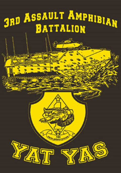 3rd Assault Amphibian Battalion 1 T- Shirt