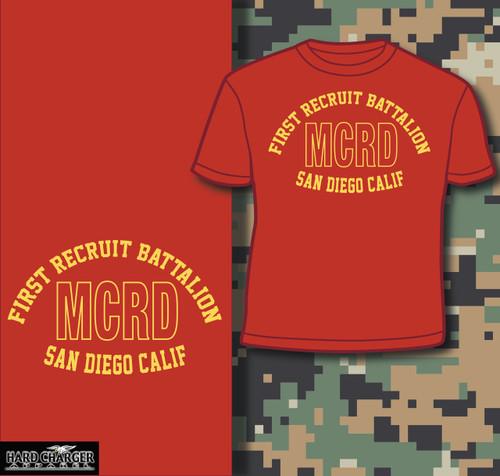 MCRD San Diego 1st Recruit Battalion T-shirt