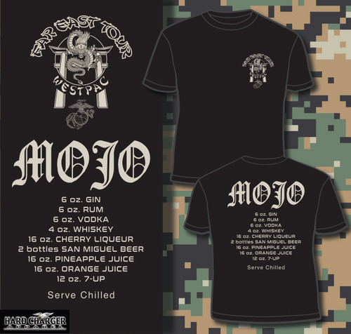 WestPac Mojo Marine Corps version t-shirt