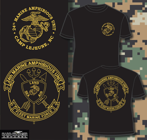 24th Marine Amphinbious Unit (24th MAU) T-shirt
