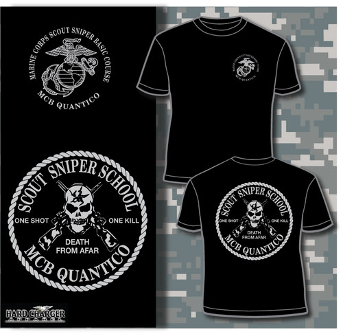Sniper School Quantico Long Sleeve T- Shirt