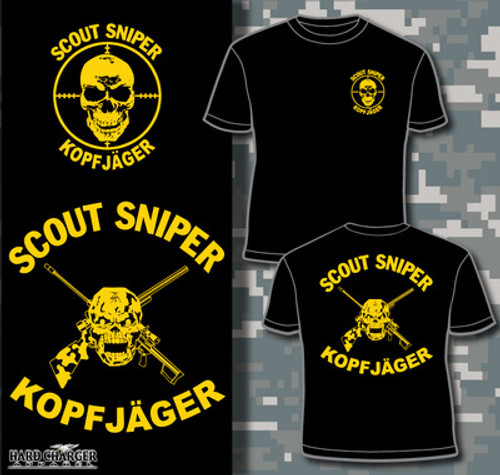 Sniper Kopfjager Long Sleeve T- Shirt