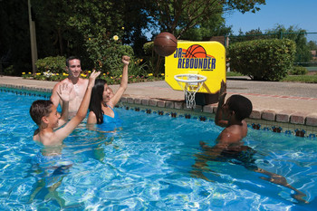 Junior Pro Poolside Basketball Game