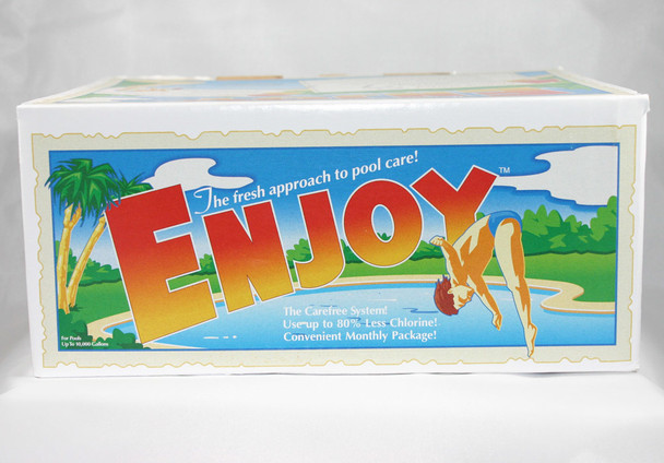 Enjoy up to 24' Rd Pools (1 Month Supply) - In Box