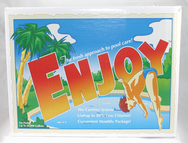 Enjoy up to 20,000 Gallon Pools (2 month supply for 24' pool or less)  - In Box