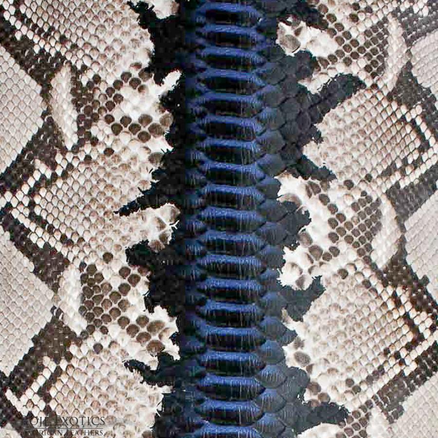 Python Back Cut  - HandPainted - (17B09-C)