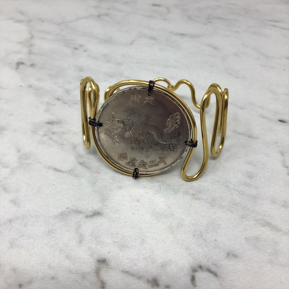 Captured Coin Cuff
