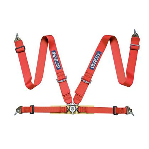 Sparco 4 Point Harness (Red, Blue, or Black)