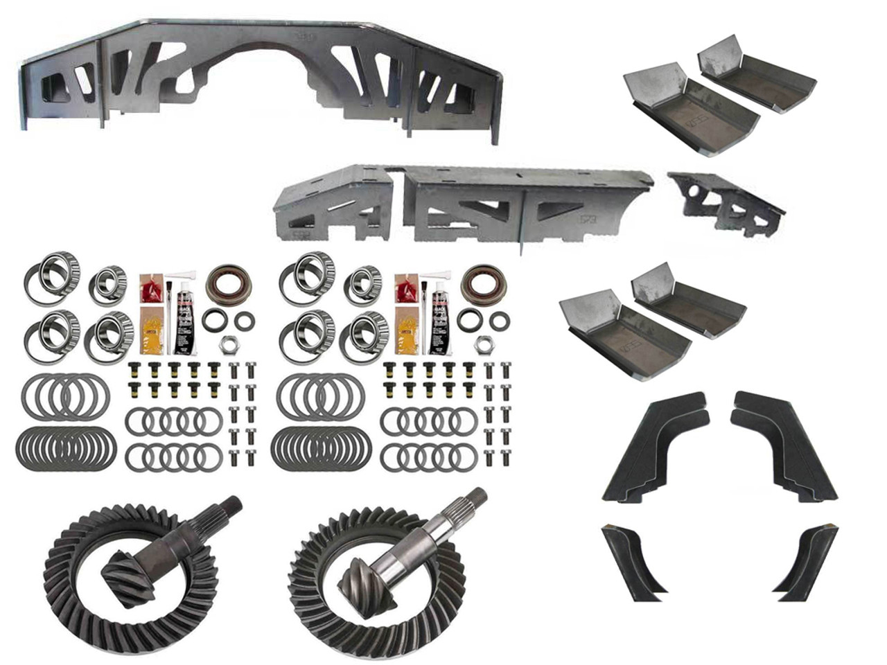Jeep JK Wrangler STAGE 3 Axle Upgrade Kit - Gear and Housing ...