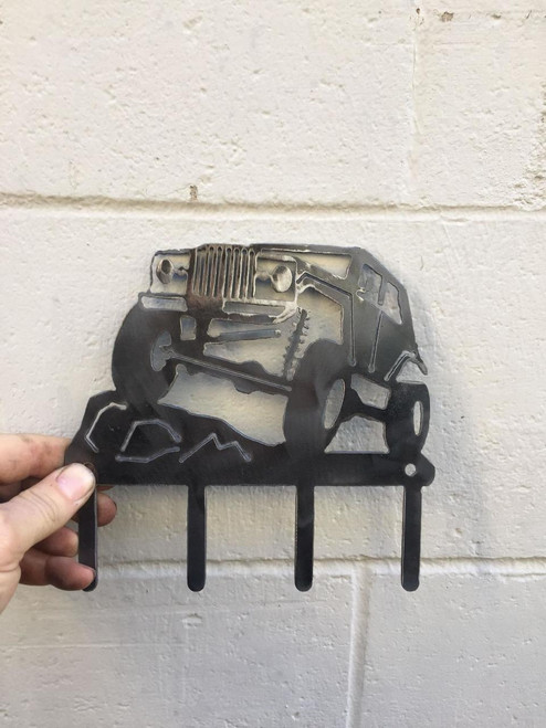 CUSTOM GLADIATOR KEY CHAIN HOLDER FOR THE JEEP ENTHUSIAST