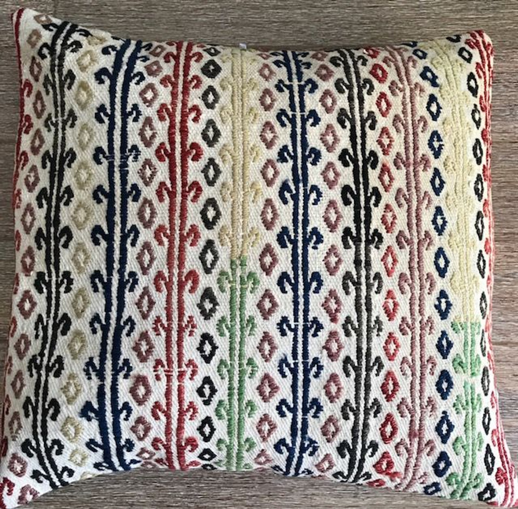 Vintage Kilim Cushion (LARGE) 22