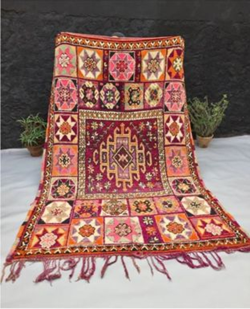 Goddess Hebe Vintage Boujaad Rug