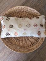 Circles 2 Vintage Kilim Lumbar Cushion