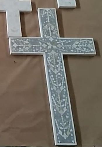 bone inlay cross
