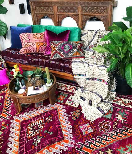 Goddess Selene Vintage Boujaad Rug