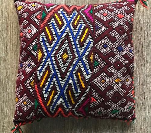 Marta Vintage Berber Cushion