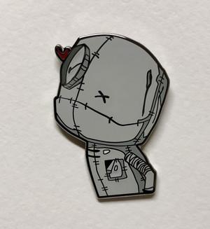 "Marcenivo  1 1/4"" size cloisonné pin Butterfly clutch"