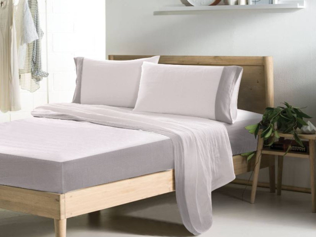 Bi-Chome Linen Bed Sheets | Handcrafted by Superior Custom Linens