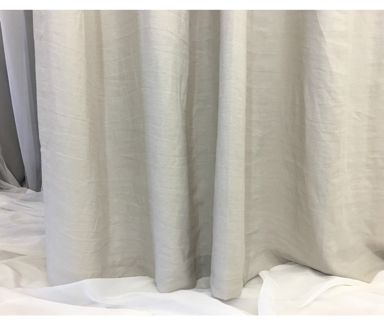 grey linen shower curtain. Stone Grey Linen Shower Curtain  Handcrafted by SuperiorCustomLinens com