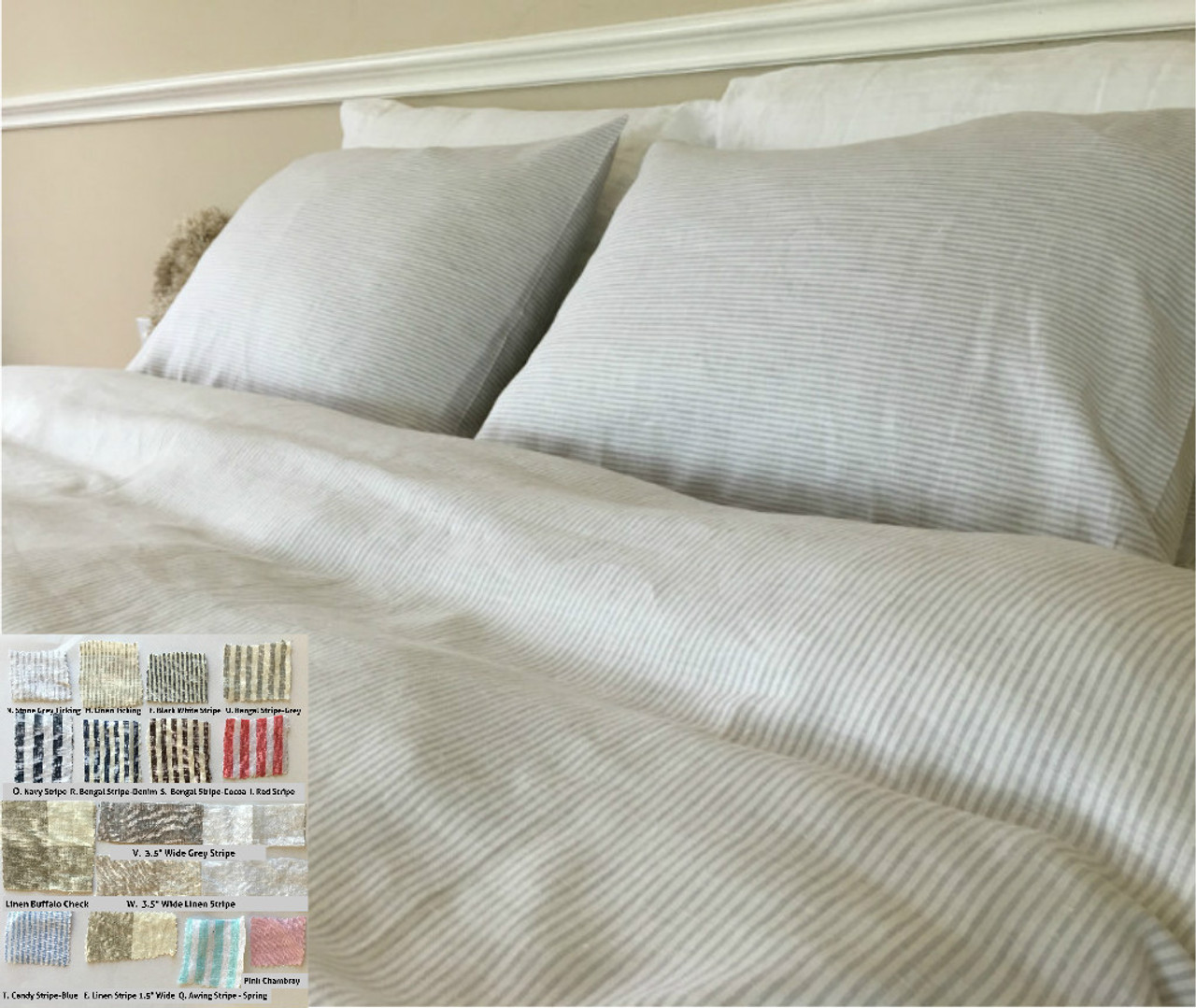 bedding miss striped sham king this cover covers graphite stripe don flannel euro tuxedo elm duvet west deal shop t