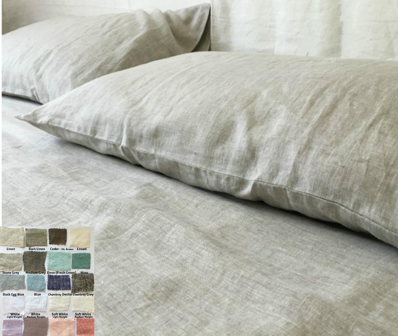 Linen Sheets Set   Natural Linen