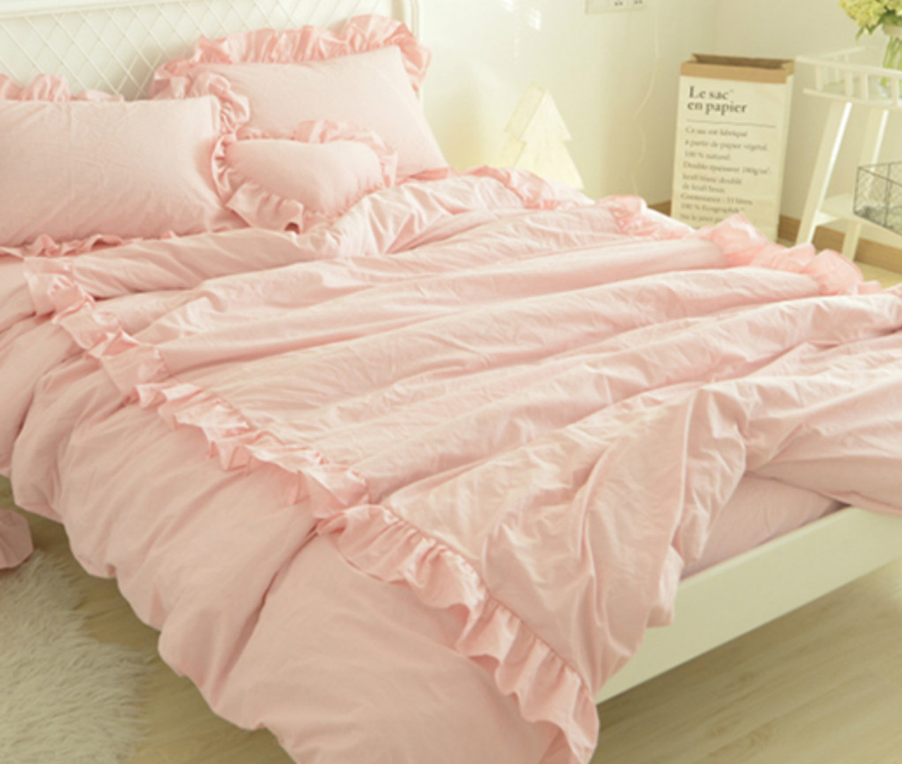 products set cover uk pink co bianca duvet nordic cotton textilewarehouse print