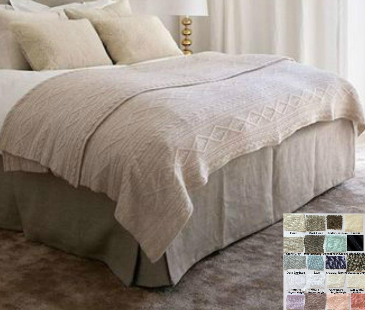 Superbe Box Bed Skirt U2013 Multiple Colors To Choose U2013 Minimalistic Classy
