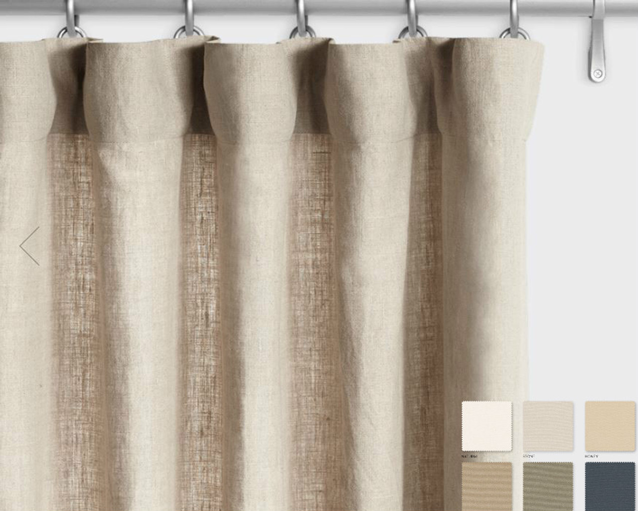 long curtain printed bedroom curtains for linen tile drapes inch room com living moroccan amazon window dp