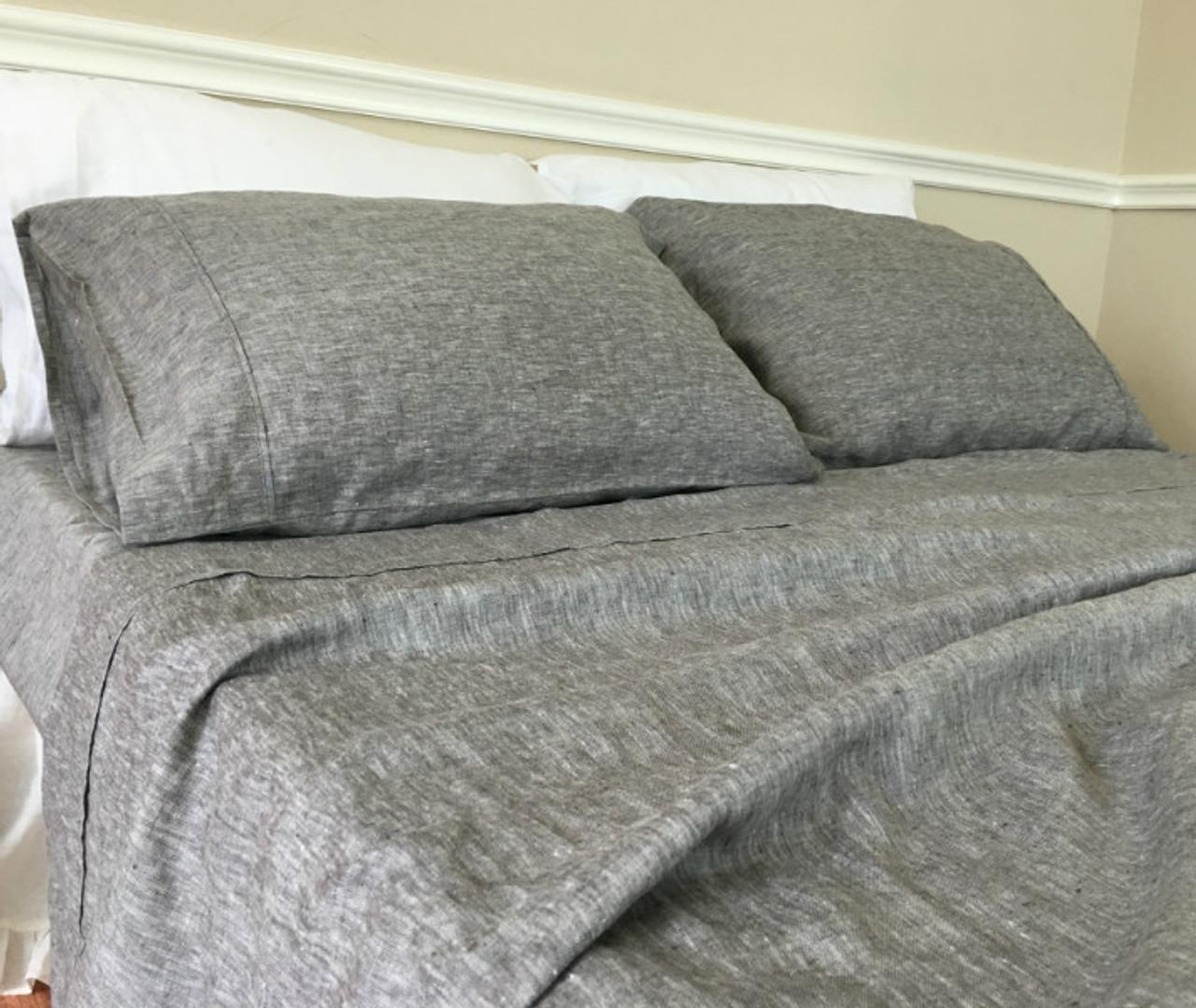 Superior Chambray Grey Sheets