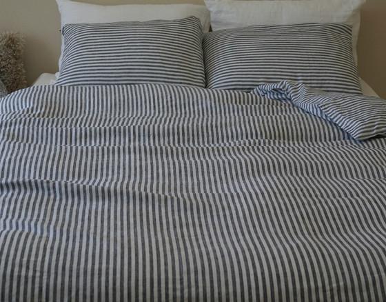 ... Navy Stripe Duvet Cover King · Navy And White ...