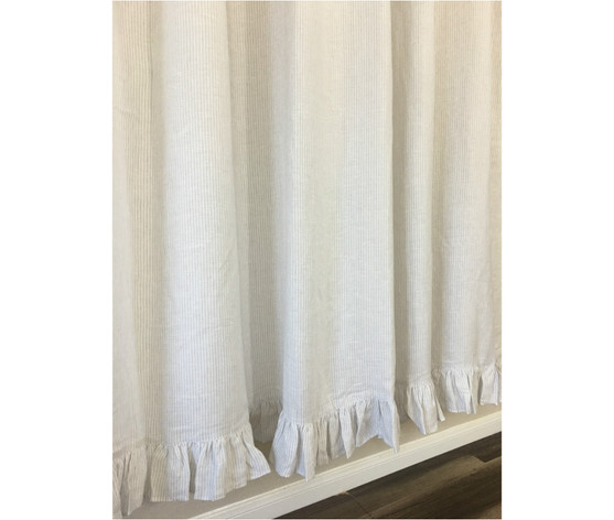 curtain with hooks blue gradient curtains bath item shower striped thickened waterproof moldproof ufriday