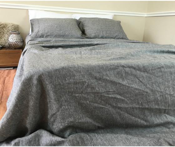 ... Chambray Bed Sheets; Chambray Grey Sheets Queen ...