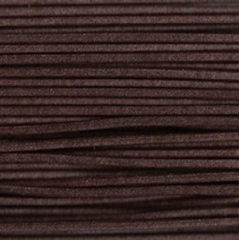 Waxed Cotton Cording Dark Brown WCC-25