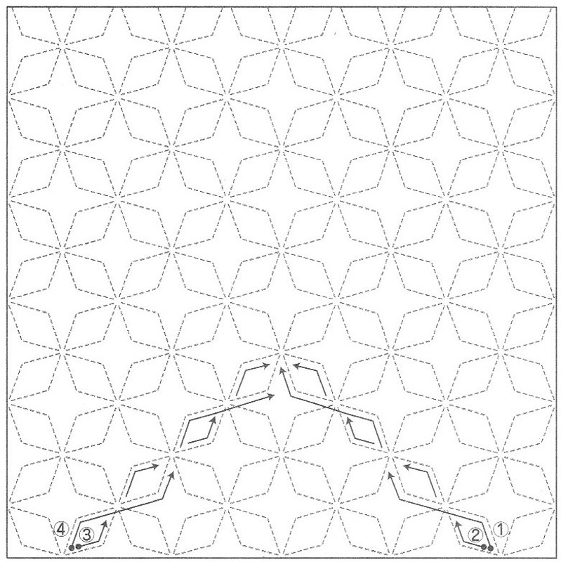 Asanoha (Hemp Leaf) SS2