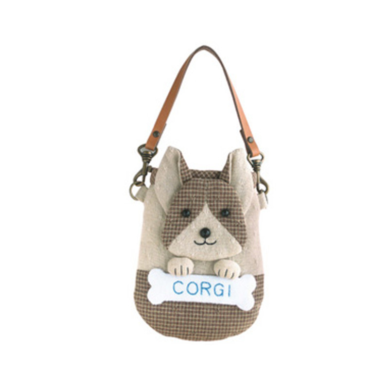 Olympus Patchwork Kit Corgi Mobile Phone/Camera Pouch PA-528