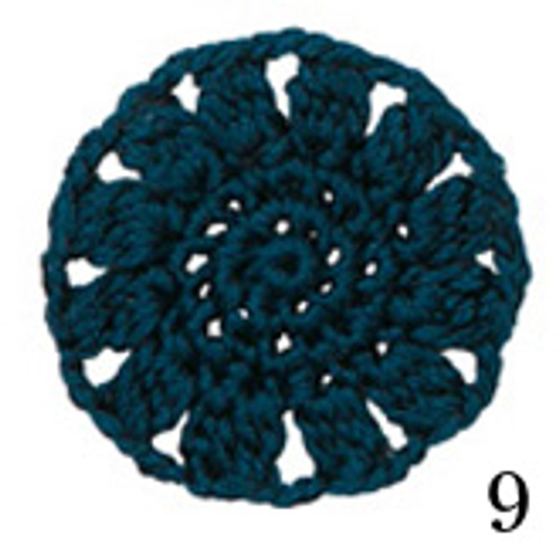 Crochet Thread Cotton Cuore Teal CC-9