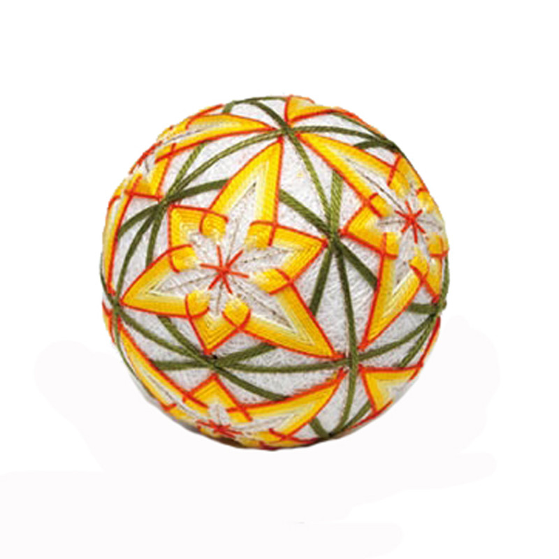 Daffodil Single Ball Temari Kit with English Instructions TM-8
